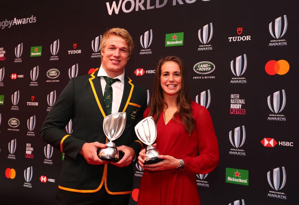 2019年ワールドラグビーアワード受賞者