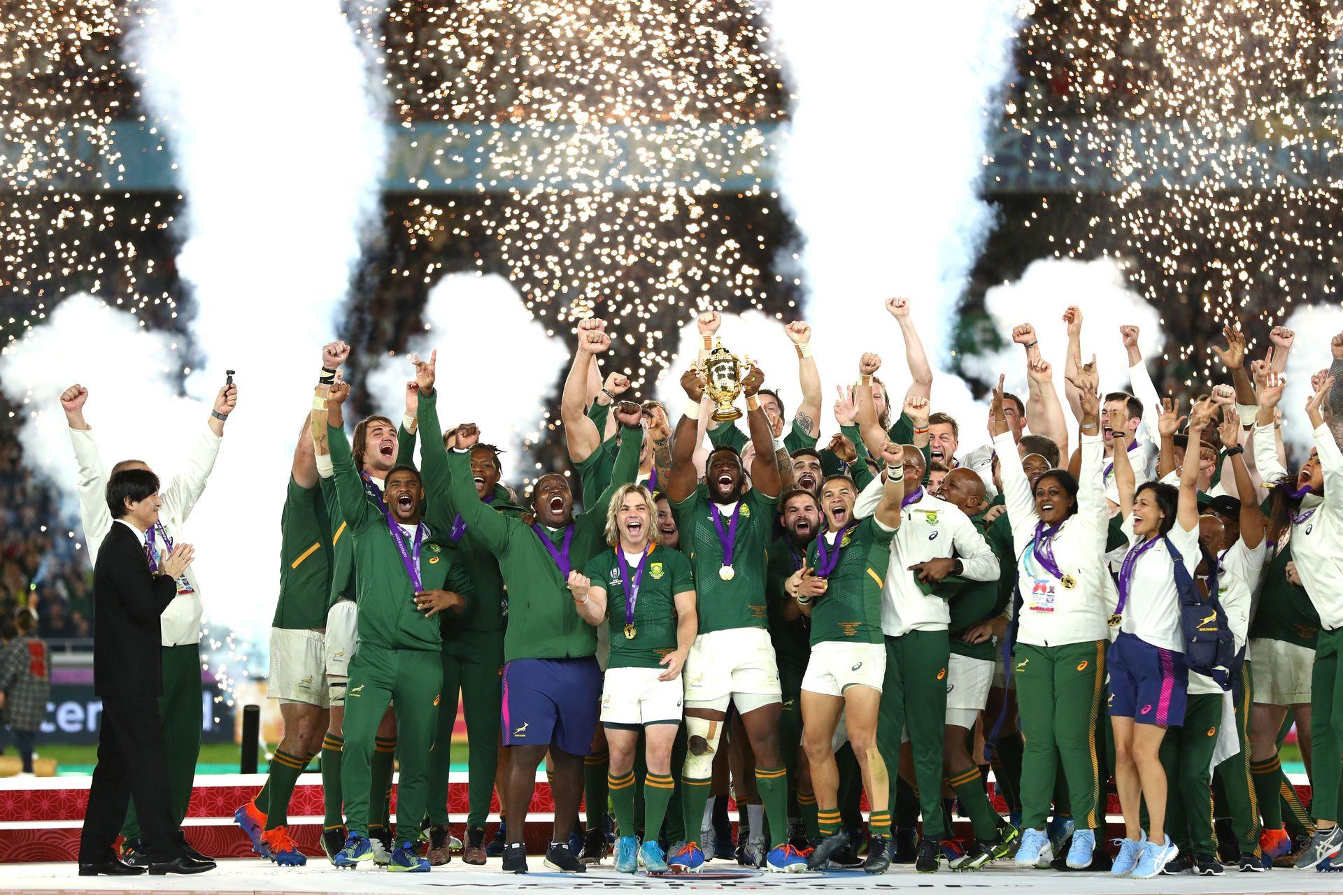 南アフリカの優勝で幕