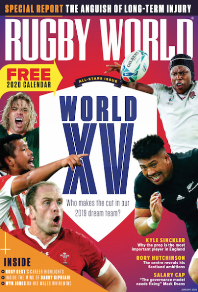 Rugby World誌のWorld XV