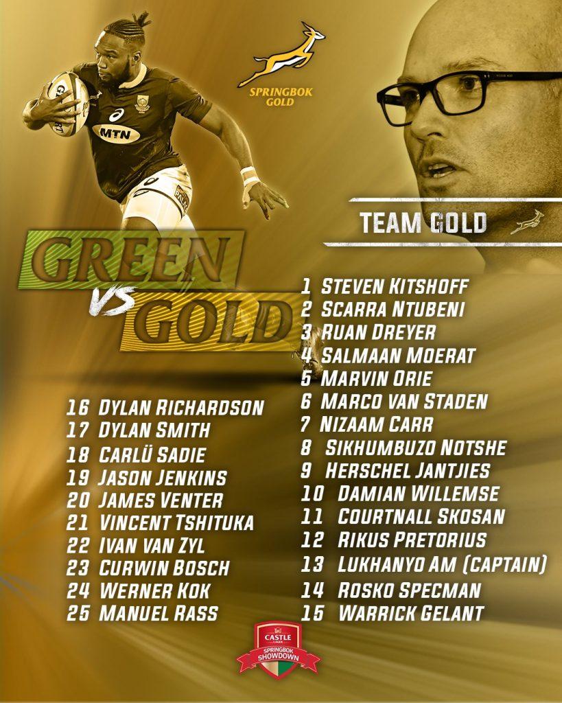 ゴールドチーム