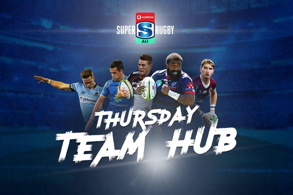Super Rugby AU teams